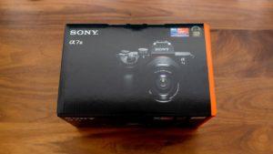 ミラーレス一眼カメラ「SONY α7 III」を買ったよ