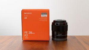 初めての単焦点レンズ SONY FE 28mm F2 SEL28F20 を買ったので試し撮り