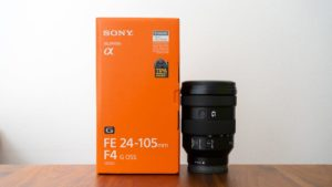 SONY FE 24-105mm F4 G OSS SEL24105G 買いました