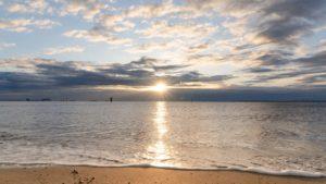 2020年の初日の出を撮りに城南島海浜公園に行ってきました