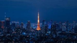恵比寿ガーデンプレイスに夕焼けと夜景を撮りにいってきました