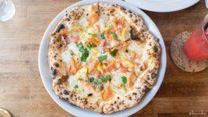 焼きたてのピザは美味しい