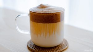 手軽に作れるダルゴナコーヒーが美味しかった